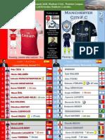 Premier League week 1 180812 Arsenal - Manchester City 0-2