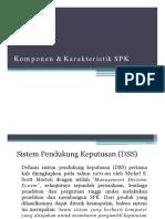 3. Komponen & Karakteristik SPK