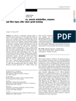 10.1007 S004210050402 Changes in Performance Muscle Metabolites Enzymes and Fibre Types After Short Sprint Training