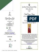 2018-24 SEPT-Vespers-ST THEKLA - Theotokos of the Myrtle