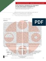 [2335075X - Serbian Journal of Experimental and Clinical Research] Henoch-Schönlein Purpura Nephritis in Children_ Prognosis and Treatment Experiences