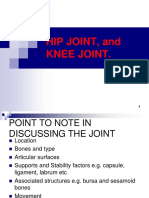 Hip Knee and Ankle Joint Pgd Pptx