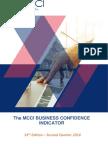 La MCCI entrevoit une croissance d'au moins 4% à partir de la confiance affichée