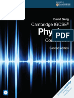 IGCSE Physics Coursebook by David Sang