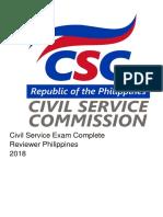 Complete Civil Service Reviewer 2018.pdf