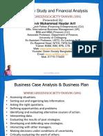 Feasibility Study & Financial Analysis