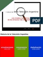 Historia de La TV Arg