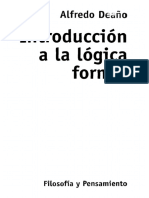 Deaño - Introduccion a La Logica Formal