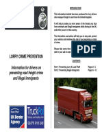 Lorry Crime Prevention Booklet June 2010