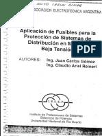 Aplicacion de fusibles para proteccion de sistemas de distribucion en media tension