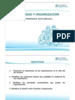 1. Sociedad y Organizacion