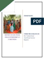 Internship Report Srujanwita Mohapatra