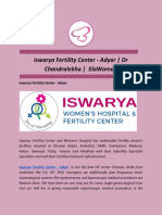 Iswarya Fertility Center - Adyar | Dr Chandralekha |  ElaWoman