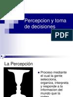 Presentacion Percepcion y Toma de Decisiones