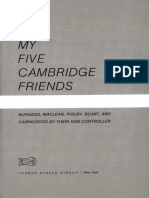 Modin, Yuri - My 5 Cambridge Friends Burgess, Maclean, Philby, Blunt, And Cairncross by Their KGB Controller