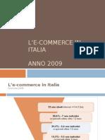 L'e-commerce in Italia - 2009