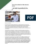 Investigadores de La Universidad de Chile Detectan Inesperada Respuesta