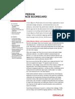 Hyperion Performance Scorecard Datasheet