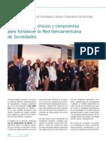 REVISTA SEOM 116_Julio 2018_Reunion Iberoamericana Oncologia