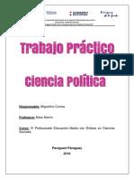 Ciencia Política- Trabajo Práctico