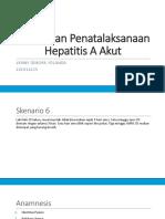 Gejala Dan Penatalaksanaan Hepatitis a Akut