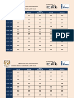 Calendario Conoce tu Mediateca 2019-1