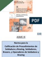 1. ASME IX