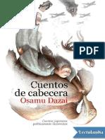Cuentos de Cabecera - Osamu Dazai