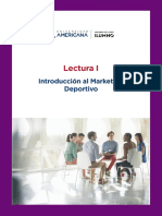 Marketing Deportivo - Lectura 1