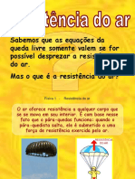 resistencia do ar.pps