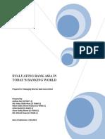 Bank Asia Report Taufiq .doc