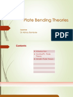 Plate Bending Theory