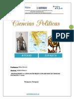 Trabajo Práctico de Ciencias Politicas