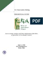1- ROA Methods-Notes (1)