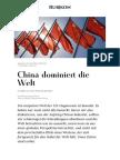 China Dominiert Die Welt