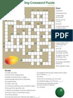 5th Grade Vocabulary Crossword