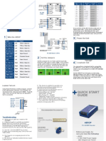 Convertidor Optico Rs422 Rs485