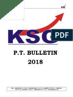 PT Bulletin 2018
