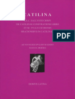 (Lingua Latina Per Se Illustrata) C.Sallustius Crispus, M.Tullius Cicero, Hans H.Ørberg-Catilina-Domus Latina (2005)