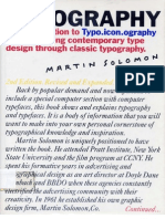 The Art of Typography - Martin Solomon