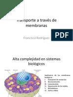 Membrana - Eq Electroquimico - Excitabilidad Celular
