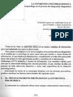 Rodriguez Amenbar v Parte II La Entrevista Psicodiagnostica