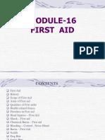 Module-16 First Aid