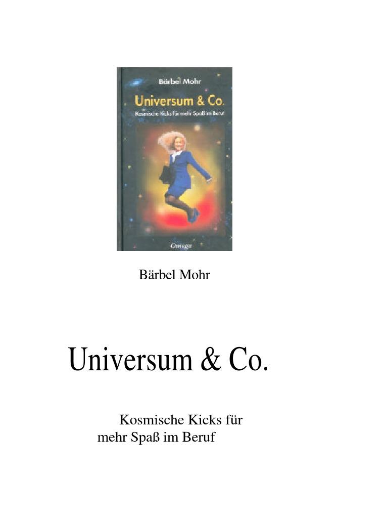 Mohr Bärbel Universum Amp Co