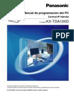 Manual de KX-TDA100D