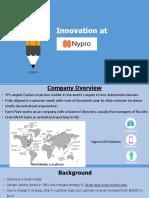 Innovation at Nypro