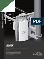 Airmax 900 MHz airMAX 2x2 MIMO PtP/PtMP YAGI Antenna