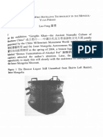 Liquor Still and Milk-wine Distilling Technology in the Mongol-Yuan Period