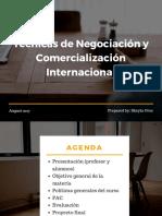 Sesión 2. La naturaleza de una negociación(1)