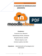 Manual de Usuario de MoodleCloud